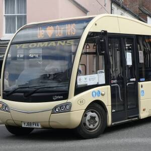 Yeomans bus - we love our NHS