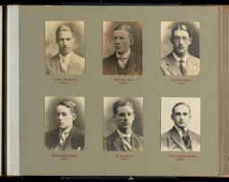 Photograph Album Senior Prefects (1875-1938)-009 Adams 1915 - Vickerman 1918.jpg
