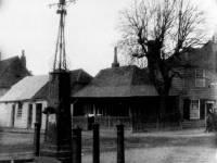 Fair Green, Mitcham: Village pump, Collbran's Corner