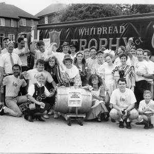Barrel Push from Hillsborough to Chapeltown  July 1st 1989