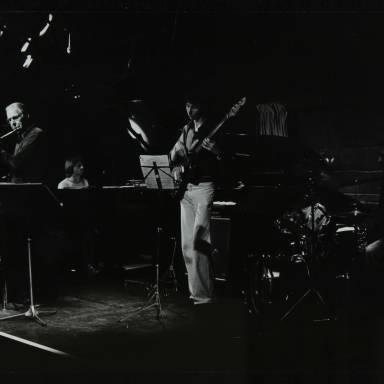 Don Rendell, Michael Garrick, Steve Cook and Alan Jackson (left to right)