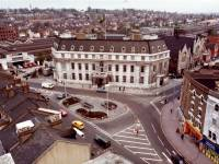 Wimbledon Town Hall, Broadway, Wimbledon:  Aerial View
