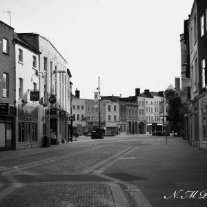 Commercial Street Hereford looking to High Town