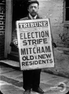 Fol Chippendale, Sandwich-board man