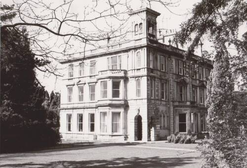 Reed Hall, photograph, c1975, Exeter