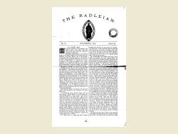 The Radleian 1875 - No. 81 November