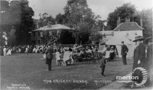 Garden Party on Lower Green, Mitcham