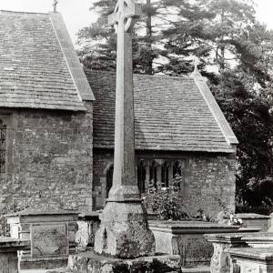 Brampton Abbotts cross, 1929
