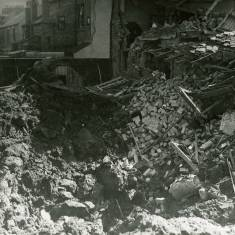 Bomb Crater in Green Lane