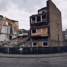 Demolishing Chatsworth Court