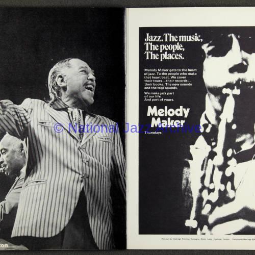 Duke Ellington Orchestra British Tour - October 1971 010