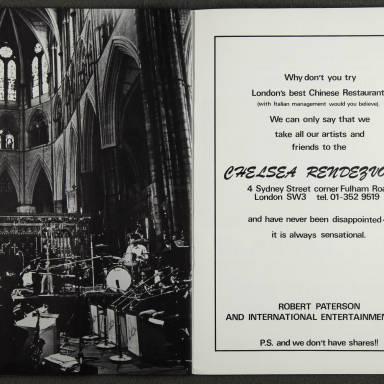 Duke Ellington Orchestra British Tour – November 1973 008