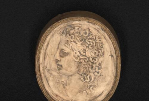 Apollo Intaglio in Plaster