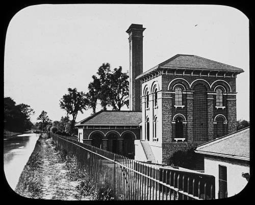 Amwell Marsh pumping station