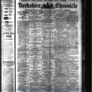 Berkshire Chronicle Reading 11-1920