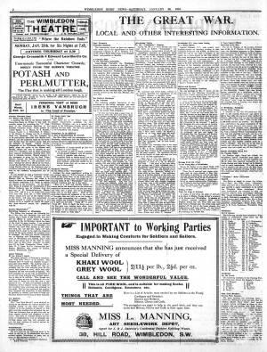 23 JANUARY 1915