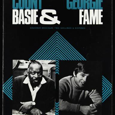 Count Basie and His Orchestra & Georgie Fame, Royal Festival Hall - 1968 - 001