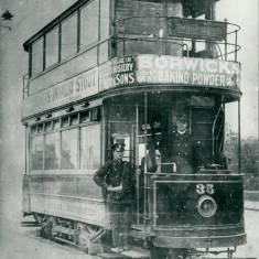 Tram Car No 35 at Pier Head.