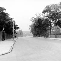 Liverpool Road, Crosby - looking north, features Nazareth House