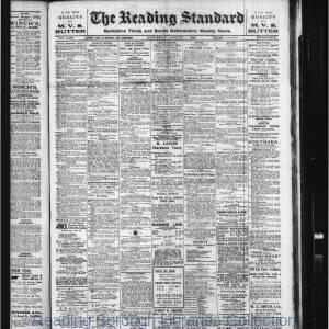 Reading Standard Etc 08-1920