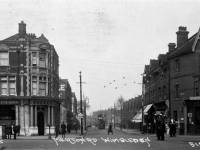 Merton Road, Wimbledon: Barclays Bank is shown on the left