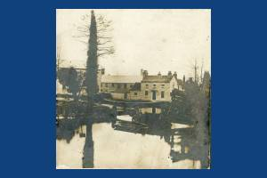 Crown and Grove Mills, Bishopsford Bridge, London Road, Mitcham