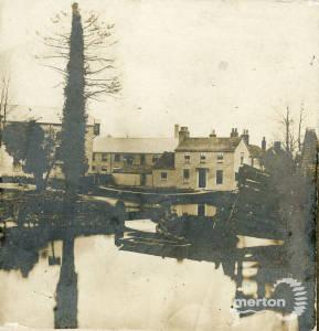 Crown and Grove Mills, Bishopsford Bridge, London Road, Mitcham