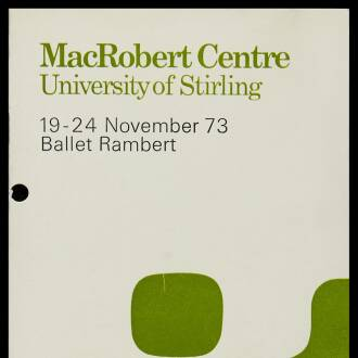 Macrobert Arts Centre, University of Stirling, November 1973
