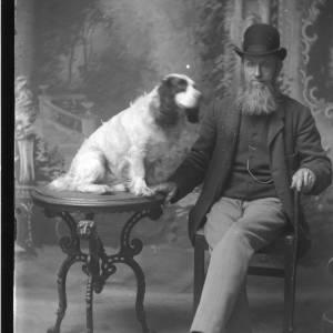 G36-279-09 Seated bearded gentleman with spaniel.jpg