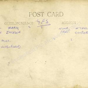 Grenoside Girls Friendly Society c.1920 2 (Overleaf)