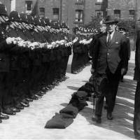 Bootle, police inspection, 1929