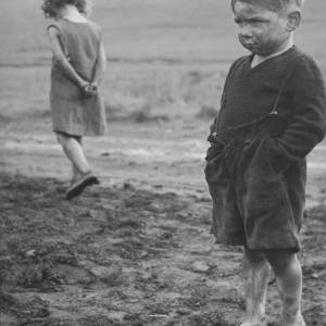 Children - Welsh Mining Village