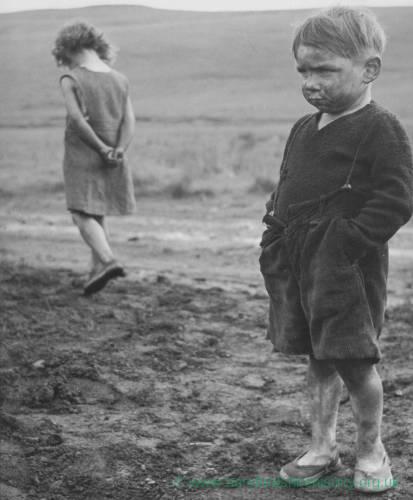 Children - Welsh Mining Village