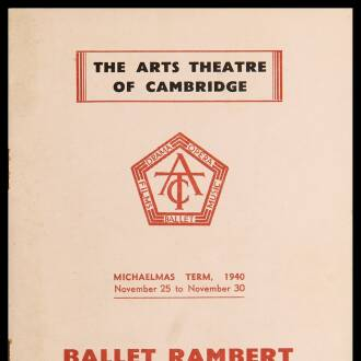 Arts Theatre of Cambridge, November 1940
