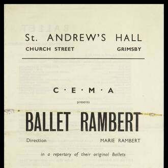 St. Andrew's Hall, Grimsby, March–April 1943