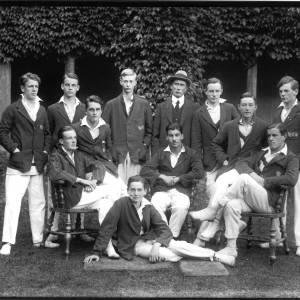 G36-417-03 Hereford Cathedral School. Senior cricket eleven.jpg
