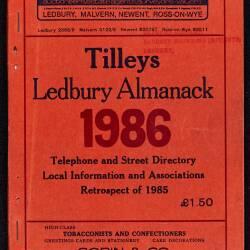Tilley's Ledbury Almanack 1986