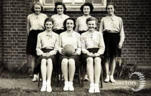 Wimbledon County School for Girls: Netball Team
