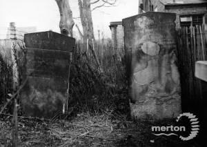 Gravestones, Congregational Chapel, Merton