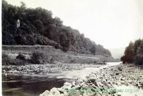 Symonds Yat near Ross-on-Wye, river view