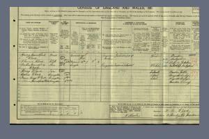 1911 Census for 3 Stanley Road, Morden