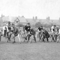 Bicycle Race at Ingham Infirmary Sports Day
