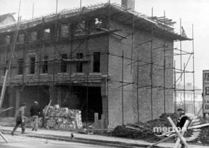 Grand Drive, Lower Morden: Shopping Parade being built