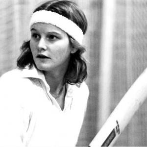 Cricketer Sarah Potter.
