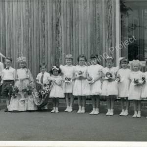 1959. 49th May Queen Rosemary Wilks (m)
