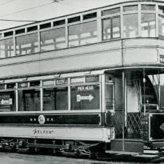 Tram Car No. 50 at Pier Head