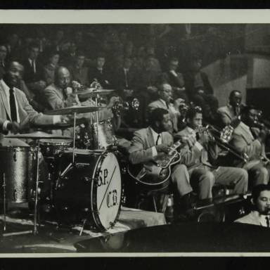 Sonny Payne with the Count Basie Orchestra