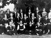 Wimbledon County School for Girls: Miss Borthwick and Staff