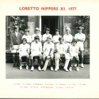 Nippers Cricket XI 1977