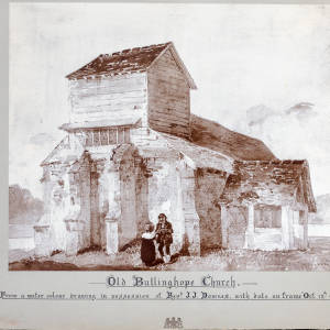 Bullinghope Church, original, 1824